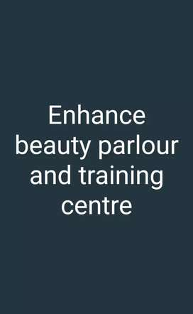 Enhance beauty parlour and training centre