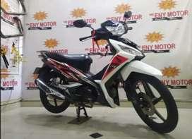 Honda Supra-x 125 th 2015 Putih Siap Pakai  - Eny Motor
