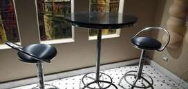 bar stool with high tabel