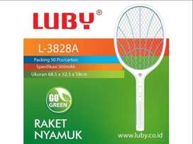 Raket Nyamuk LUBY L-3828A rechargeable