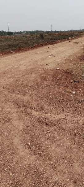 Plots sale near 200ft road sides