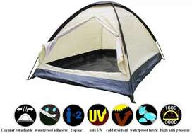 Double Layer Door Camping Tent / Tenda Camping - ZP32750 - Blue