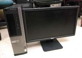 One year warranty Dell 3020 Core i5 4th Generation full set with led