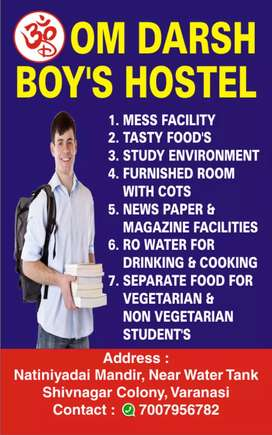 Boy's Hostel with Mess Facility