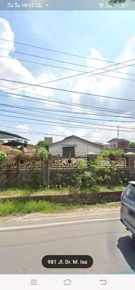 Disewakan gudang 1400m tengah kota palembang