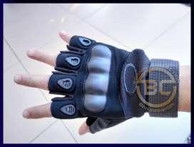 Sarung tangan taktikal bahan serat elastis v3 untuk pengendara motor