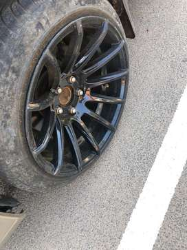 """17""""alloys and tyre"""