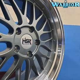 Velg Mobil All New BMW Ring 18 HSR LEMANS Pcd 5X120 Grey Polish