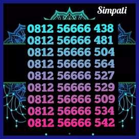 Nomor cantik Telkomsel merah