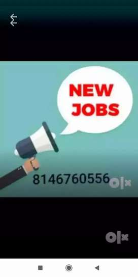 Job for all job seeker, apply now limited seats