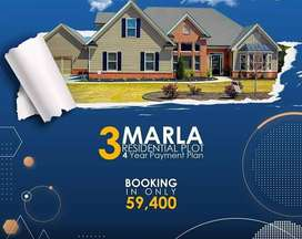 3Marla Files & Bookings Available Easy Installments Blue World City