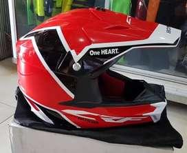 Helm Honda thril CRF