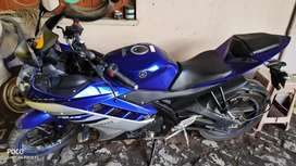 Yahamaha R15 version 2 at rs. Of 70000 only