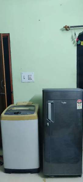 Washing Machine & Refrigerator Combo