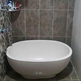 Jual bathtub teraso marmer original unik cantik dan elegan P120