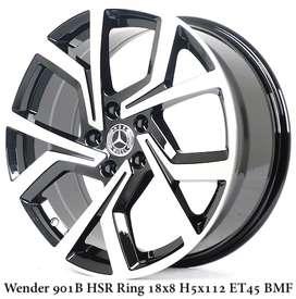 HSR Wheel Lampung WENDER R18X8 H5X112 ET45 BMF