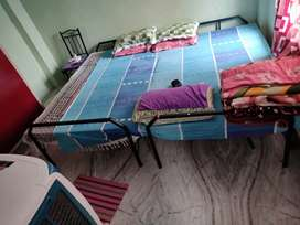 6/5 folding bed with mattress