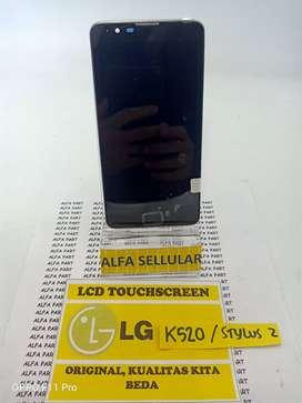 Lcd Touchscreen LG Stylus 2 K520 + Frame Fullsett Oiginal