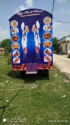 Fast food bechene wala gaari