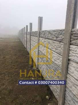 hanjra precast boundary walls and roofs