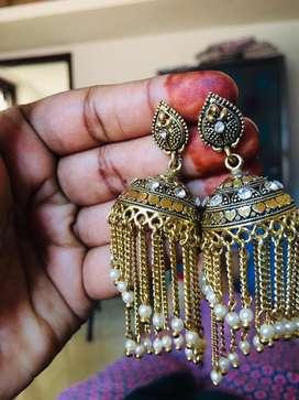 Antique ear rings