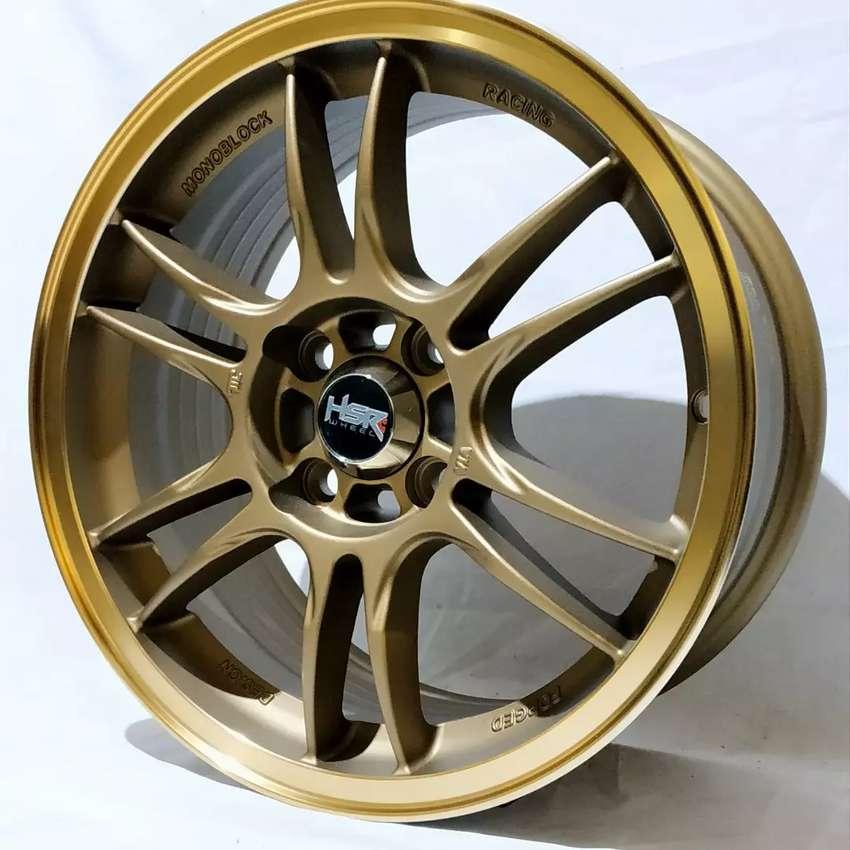 Jual Velg Racing HSR Ring 15 Cocok untuk mobil Brio, agya, ayla, sigra