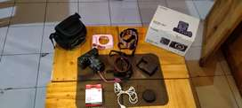 Canon eos m3 fullbox dan aksesoris