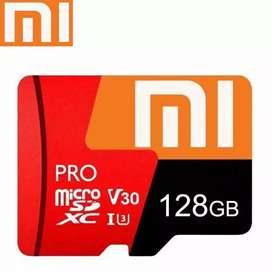 Micro SD+Aadaptor+card rider Xiaomi 128GB Class 100 real capacity