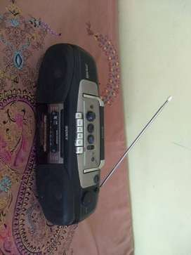 Sony cassette player with usb, aux, fm and card