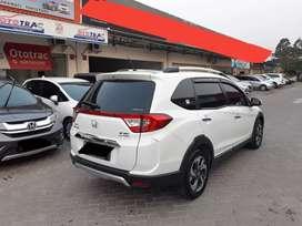 Honda BRV E CVT A/T Thn 2017 Putih Kilometer Low