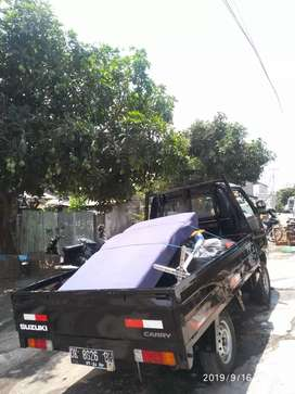Pick up transport sewa pickup + driver murah