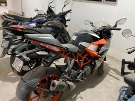 Brand new condition ktm rc390