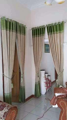 Goryn gordyn minimalis indah menawan dekorasi interior dan exteriorXDX