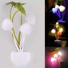 Lampu Jamur Tidur Sensor
