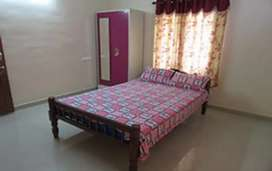 2bhk AC fully furnished apartment  short and long  rent near Manorama