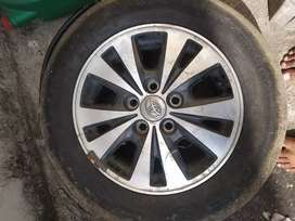Innova top end disk &tyre tube less 75,% button