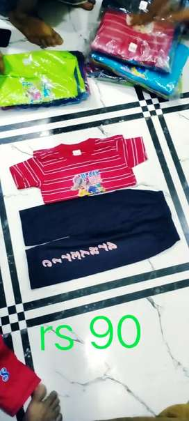 Kids t shart with pant nice quality