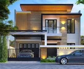 Rumah san diego pakuwon city surabaya new gress row jalan 3 mobil