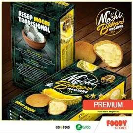 Mochi Bakar Durian