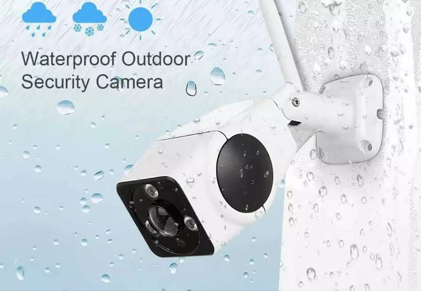 Secure Your home with Wifi Camera Waterproof Outdoor Metal body