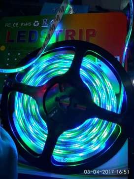 Nyalanya Keren Banget Led Strip RGB ini Jadi lampu best seller.