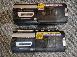 Sony boombox radio tape recorder