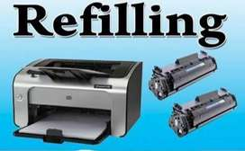 Printer services and Toner refilling at your place