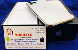 iPhone 11 Pro Silver 256GB Indian Purchase AppleWarranty Till Sep-2020