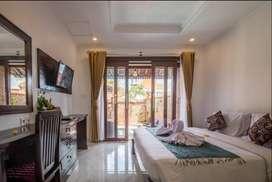 Yearly Rent or Leasehold Esthetic Villa 2 BR at Kayu Tulang Canggu