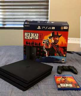 Playstation 4 pro console in brand new condition+ warranty best prise