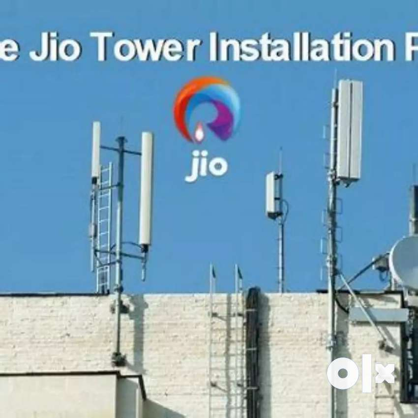 Jio 4G Networking Towers 0