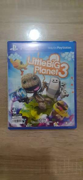 BD Game Kaset PS4 Ori Little Big Planet 3 Reg All