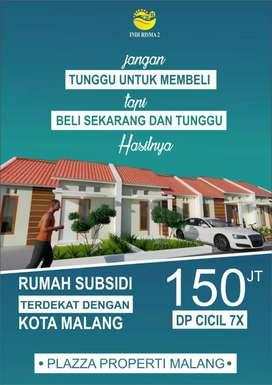 Rumah Subsidi 5km dari alun-alun malang