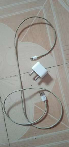 iPhone charger with cable